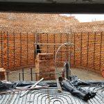 Ściana grzewcza w pomieszczeniu jaccuzzi