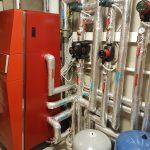 Kotłownia zbudowana na kotle gazowym